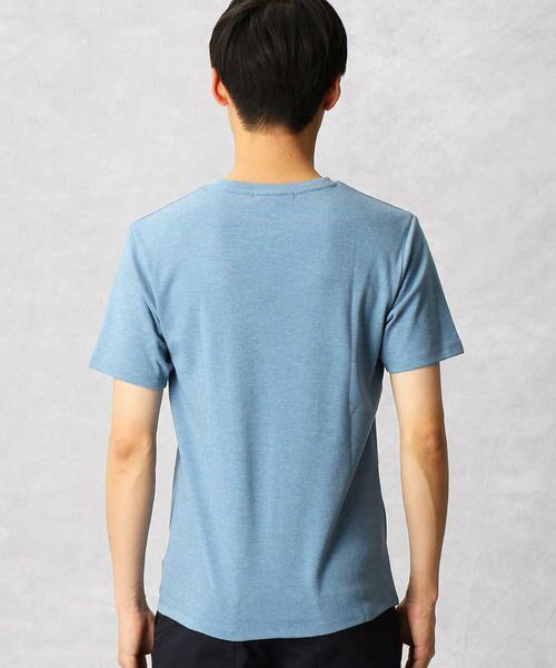 COMME CA MEN / コムサ・メン Tシャツ | ゼロステイン VネックTシャツ | 詳細5
