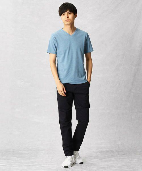 COMME CA MEN / コムサ・メン Tシャツ | ゼロステイン VネックTシャツ | 詳細6