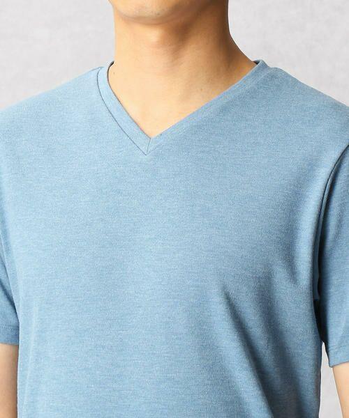 COMME CA MEN / コムサ・メン Tシャツ | ゼロステイン VネックTシャツ | 詳細7