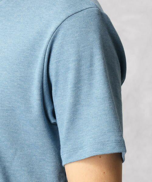 COMME CA MEN / コムサ・メン Tシャツ | ゼロステイン VネックTシャツ | 詳細8
