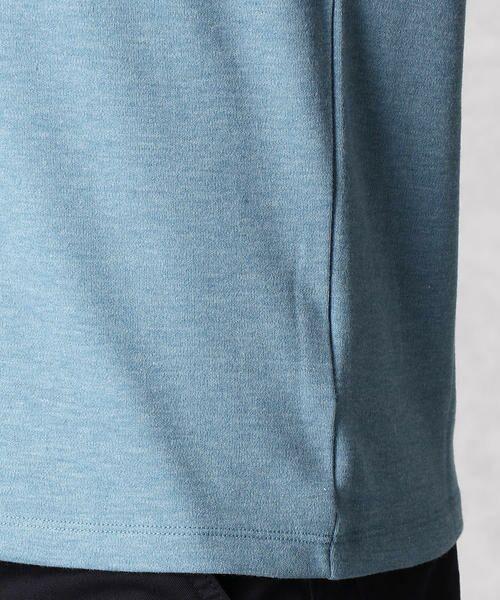 COMME CA MEN / コムサ・メン Tシャツ | ゼロステイン VネックTシャツ | 詳細9