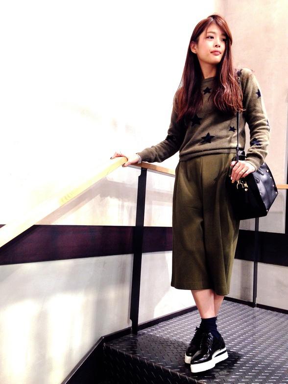 staff:UR神南店 157cm