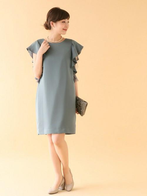 e5be3761280cf URBAN RESEARCH ROSSOスタッフのドレスを使ったレディースファッションコーディネート