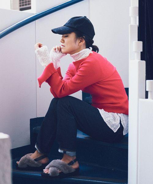 ROPÉ mademoiselle×AYA KANEKO COLLABORATION   レガントなレース素材にストイックなパターンの、レーストップス」  スタイリストの金子綾さんとのコラボレーションが実現。 今シーズンからロペマドモアゼルが掲げる女性像 「ワル」×「女っぽさ」=「マドモアゼル女」のワードローブについてディスカッションをかさね生まれた5つのコラボレーションアイテムたちをご紹介。