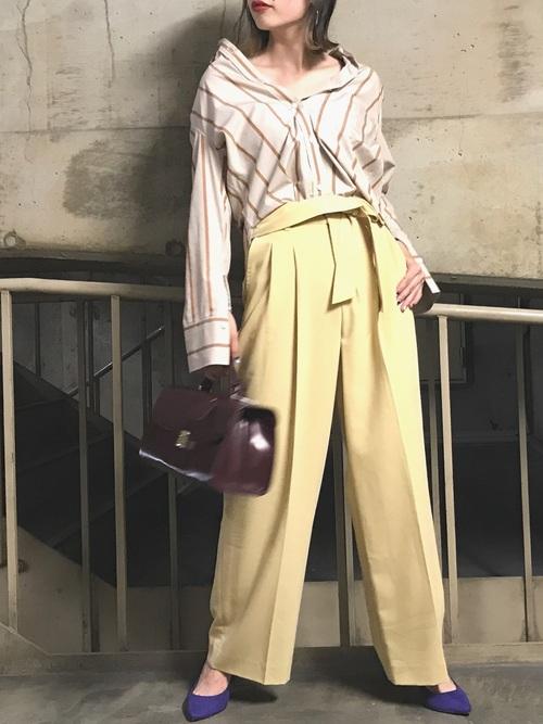 ペールトーンで柔らかく🌙🌙 長袖が着やすい季節になってきましたね🌾
