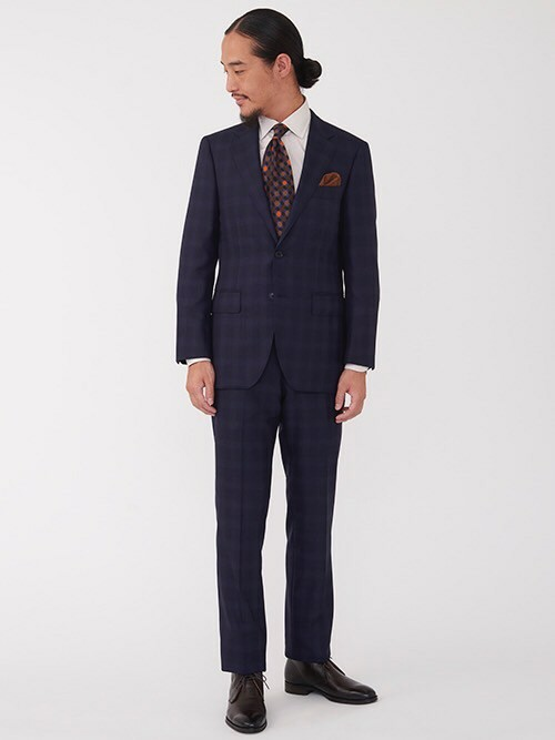 check suit style