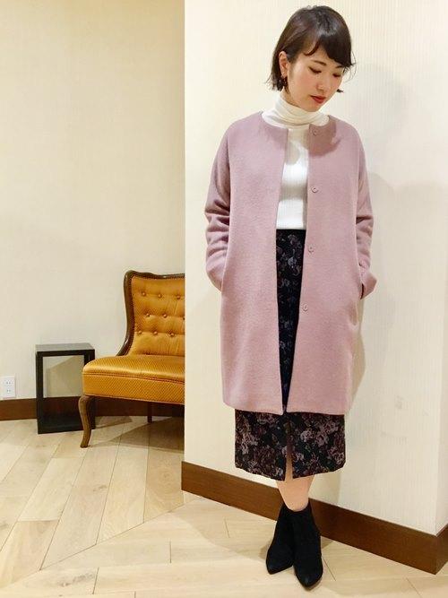 ロング・マキシ丈スカートを使ったレディースコーデ | SHIPS for women