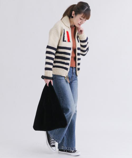 ニット・セーターを使ったレディースコーデ   Sonny Label