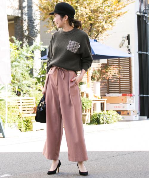 ニット・セーターを使ったレディースコーデ | Sonny Label