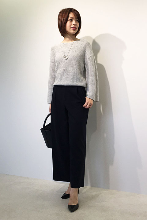 ニット・セーターを使ったレディースコーデ | 22 OCTOBRE