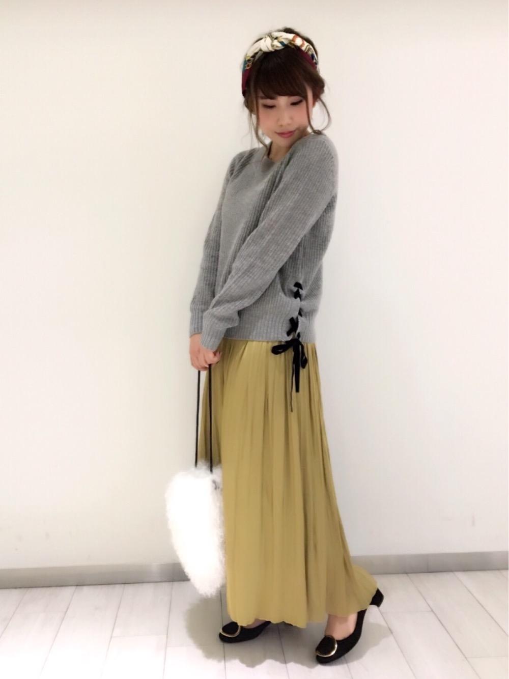 ロング・マキシ丈スカートを使ったレディースコーデ | le.coeur blanc