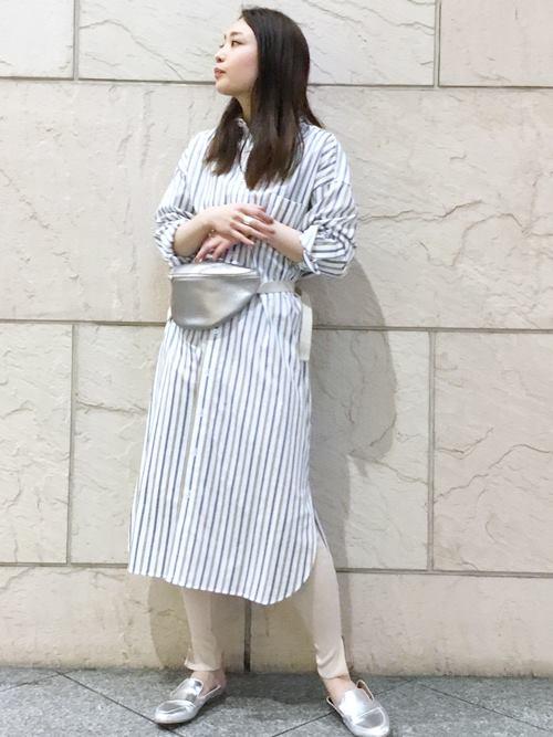 ロング・マキシ丈ワンピースを使ったレディースコーデ | SHIPS for women