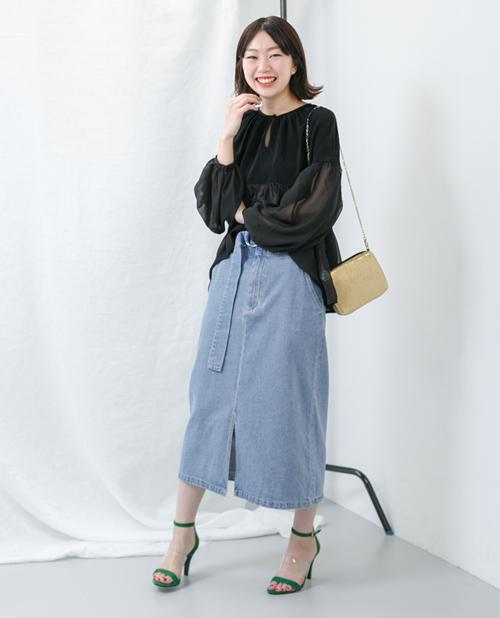 スカートを使ったレディースコーデ | KBF