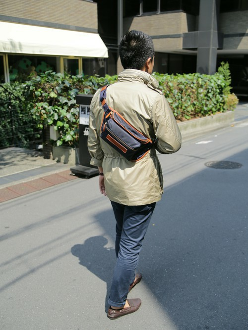 ショルダーバッグを使ったメンズコーデ | **Felisi