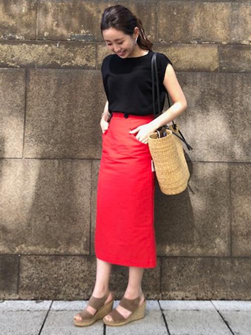 ミニ・ひざ丈スカートを使ったレディースコーデ | Abahouse Devinette