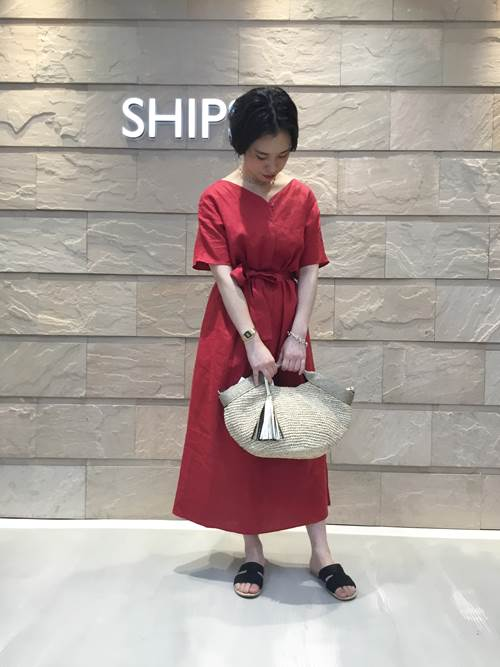 かごバッグを使ったレディースコーデ | SHIPS for women