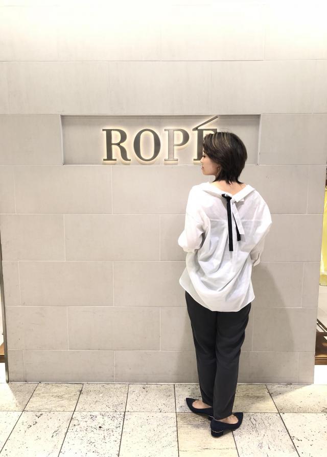 シャツ・ブラウスを使ったレディースコーデ | ROPE'