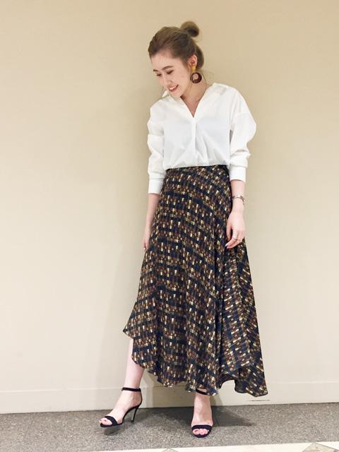 ロング・マキシ丈スカートを使ったレディースコーデ | Rouge vif la cle