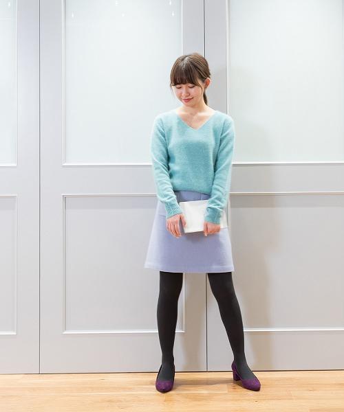 ニット・セーターを使ったレディースコーデ | NATURAL BEAUTY BASIC