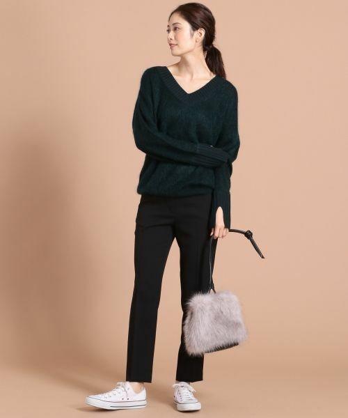 ニット・セーターを使ったレディースコーデ | ICB