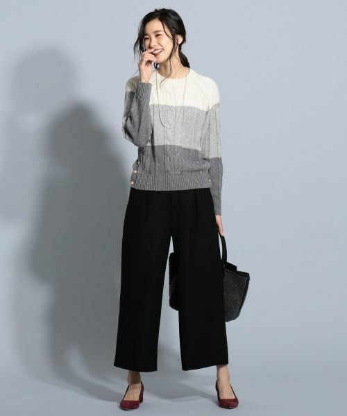 ニット・セーターを使ったレディースコーデ | J.PRESS
