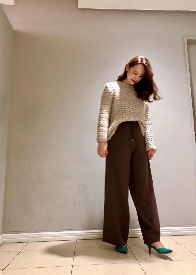 ニット・セーターを使ったレディースコーデ | ROPE'