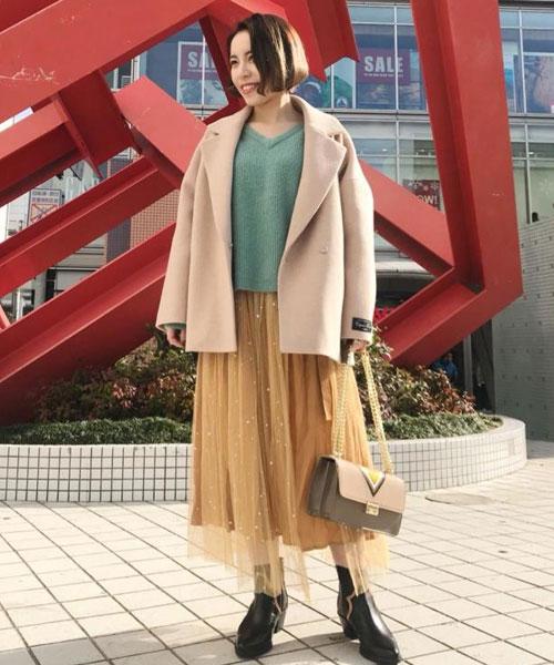 ニット・セーターを使ったレディースコーデ | ROSE BUD
