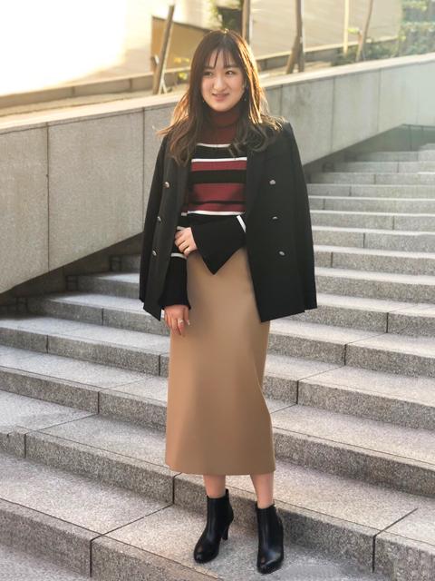ミニ・ひざ丈スカートを使ったレディースコーデ | Rouge vif la cle
