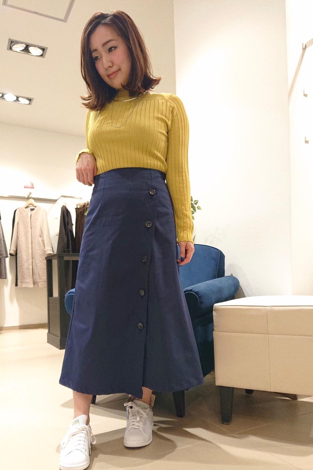 ニット・セーターを使ったレディースコーデ | Droite lautreamont