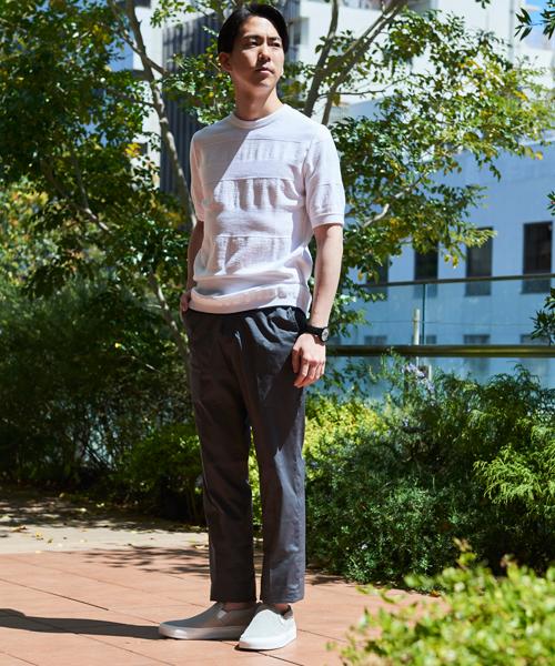 ニット・セーターを使ったメンズコーデ | TOMORROWLAND
