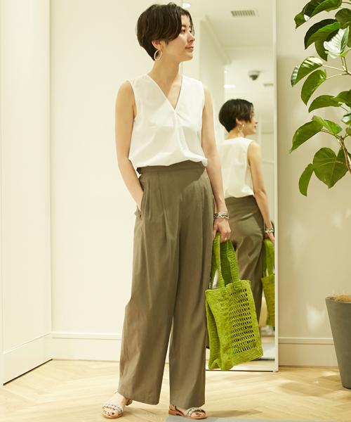 2df2821ec133 TOMORROWLANDスタッフのシャツ・ブラウスを使ったレディースファッションコーディネート | NO:36331