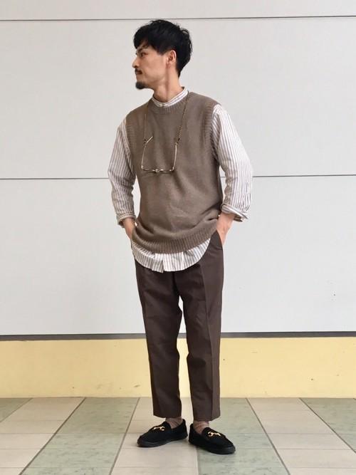 ニット・セーターを使ったメンズコーデ | green label relaxing