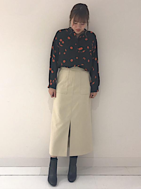シャツ・ブラウスを使ったレディースコーデ | Droite lautreamont