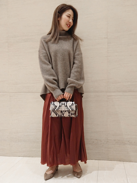 ニット・セーターを使ったレディースコーデ | Rouge vif la cle