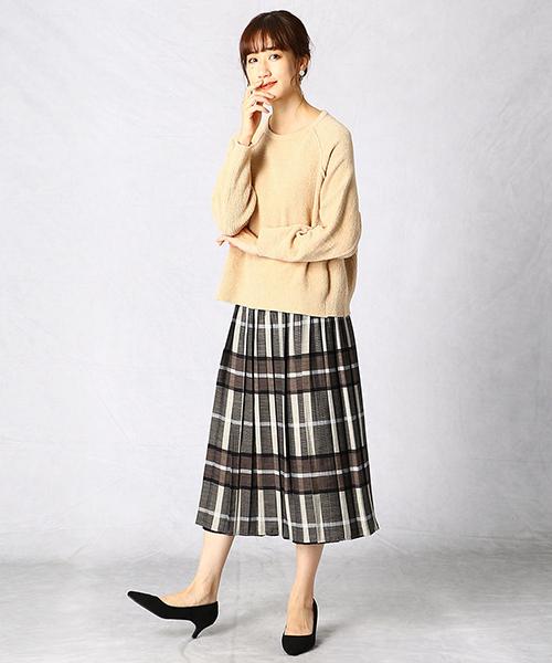 ニット・セーターを使ったレディースコーデ | COMME CA ISM