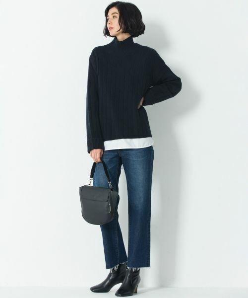 ニット・セーターを使ったレディースコーデ | 23区