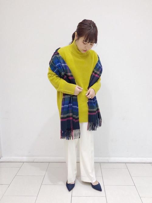 ニット・セーターを使ったレディースコーデ | UNITED ARROWS