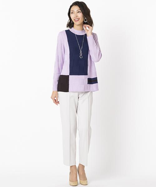 ニット・セーターを使ったレディースコーデ | Liliane Burty