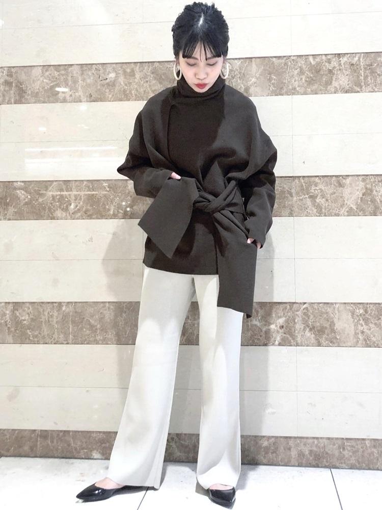 ニット・セーターを使ったレディースコーデ   SHIPS for women
