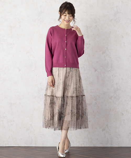 ニット・セーターを使ったレディースコーデ | Rose Tiara