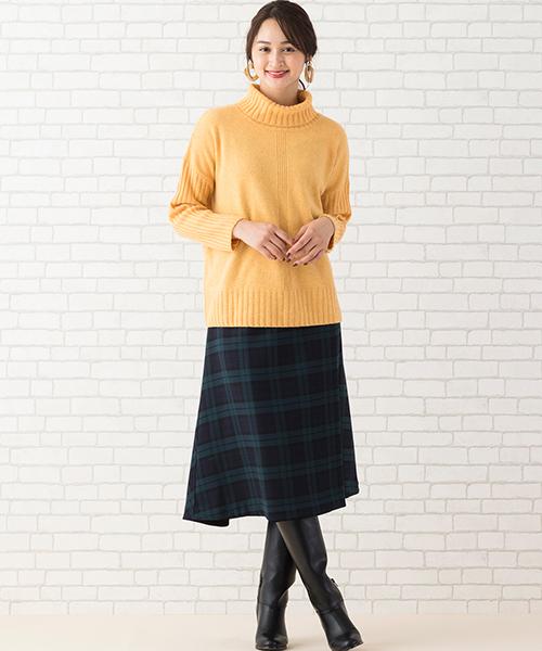 ニット・セーターを使ったレディースコーデ | PISANO