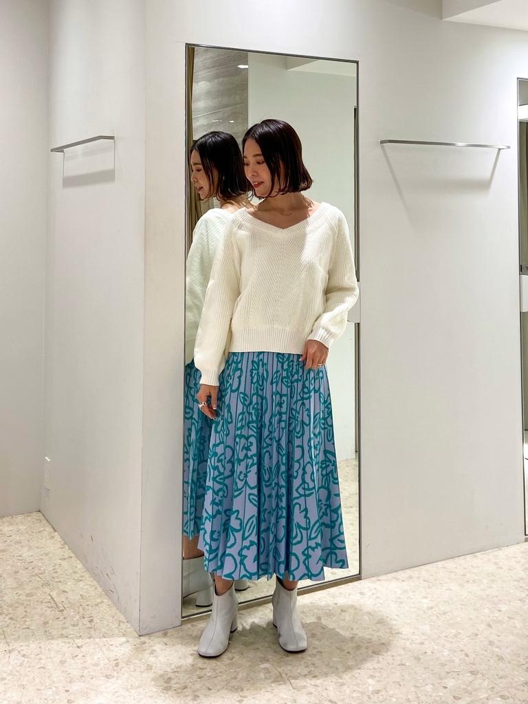 ニット・セーターを使ったレディースコーデ   GRACE CONTINENTAL