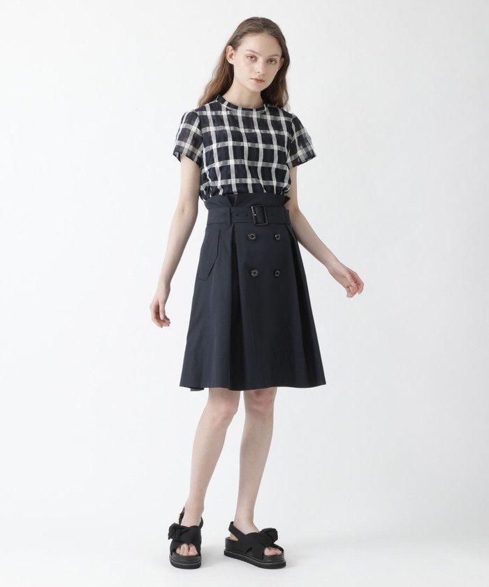ミニ・ひざ丈スカートを使ったレディースコーデ | BLUE LABEL / BLACK LABEL CRESTBRIDGE