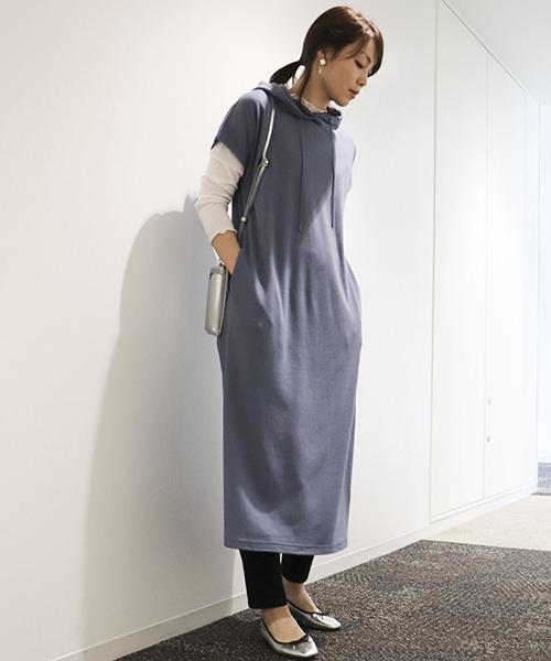 【コムサマチュア】 春は、レイヤードでさらにファッションを楽しめる季節♪
