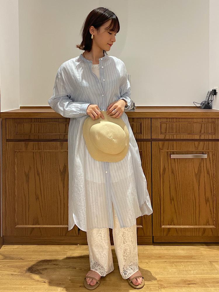 ロング・マキシ丈ワンピースを使ったレディースコーデ   SHIPS for women