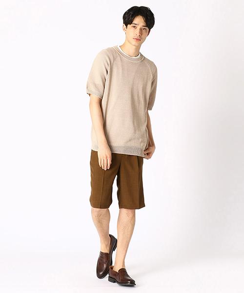 ニット・セーターを使ったメンズコーデ   COMME CA ISM