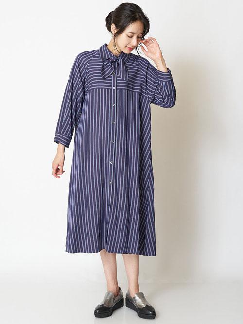 ロング・マキシ丈ワンピースを使ったレディースコーデ | HIROKO BIS GRANDE