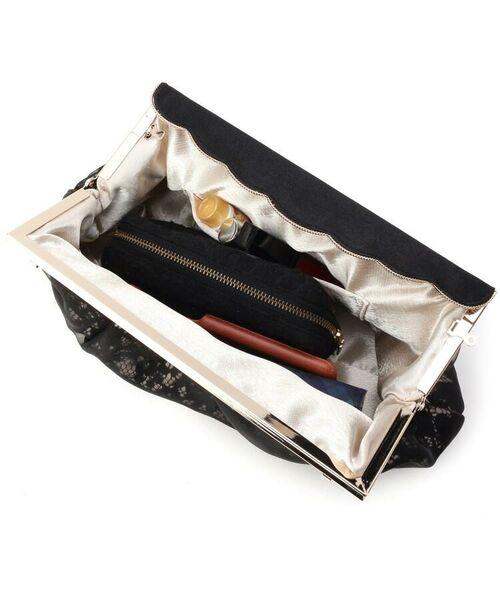 Couture Brooch / クチュールブローチ クラッチ・パーティバッグ   Diamond Dorry Doll(ドリードール)レースクラッチショルダー   詳細5
