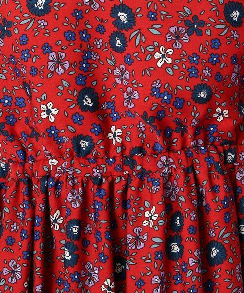Couture Brooch / クチュールブローチ ミニ丈・ひざ丈ワンピース | 【手洗い可】レトロフラワーワンピース | 詳細8