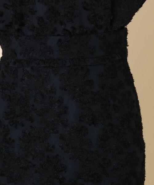Couture Brooch / クチュールブローチ ミニ・ひざ丈スカート   【WEB限定サイズ(LL)あり/手洗い可】カットジャガードミモレ丈スカート   詳細3